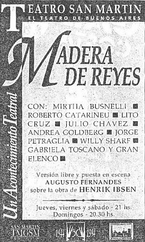 Madera de Reyes